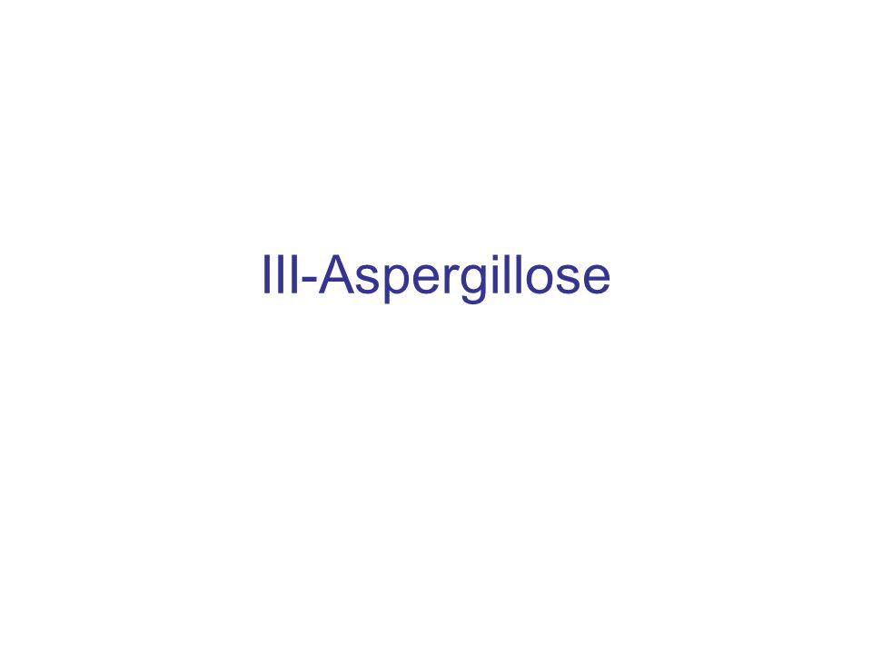 III-Aspergillose