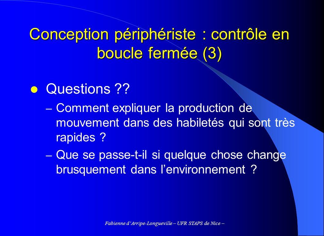 Conception périphériste : contrôle en boucle fermée (3)
