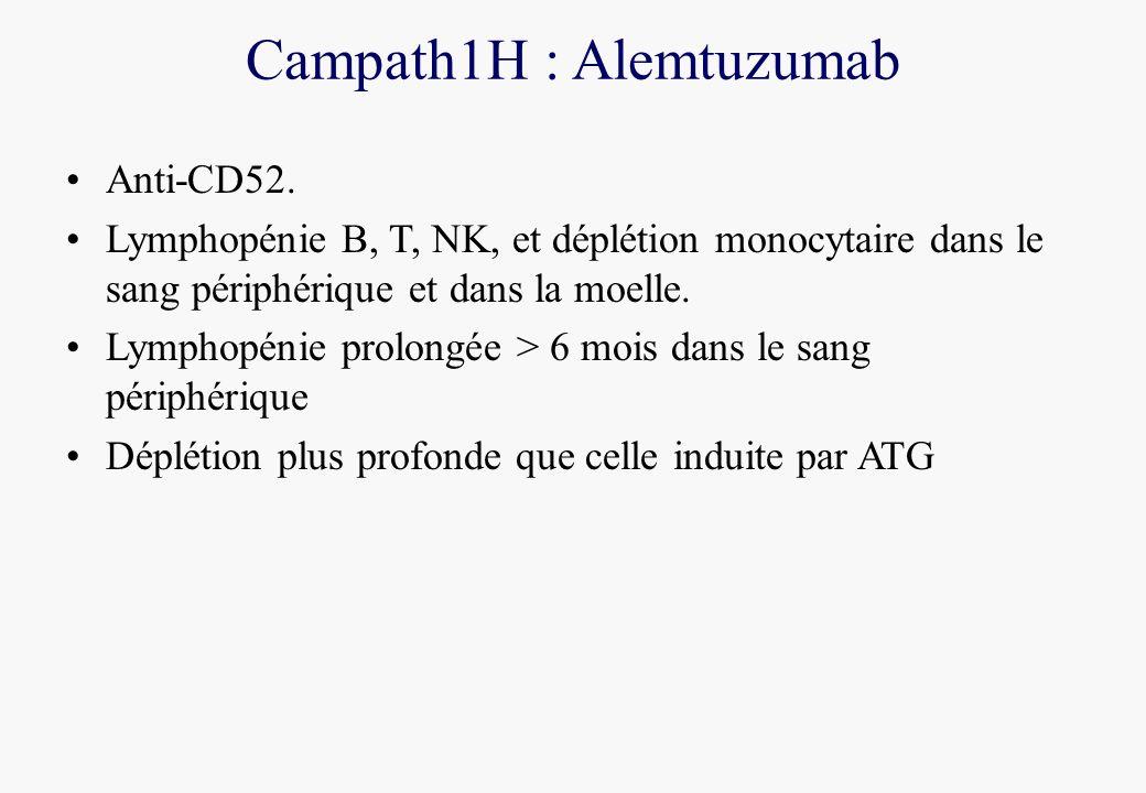 Campath1H : Alemtuzumab