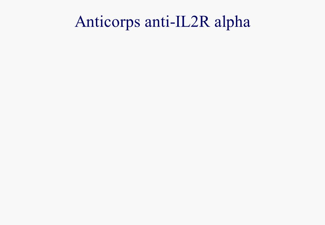 Anticorps anti-IL2R alpha