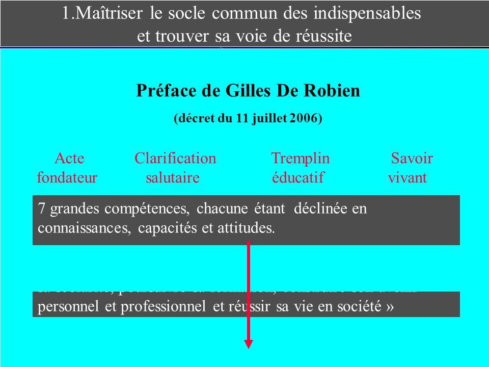 Préface de Gilles De Robien