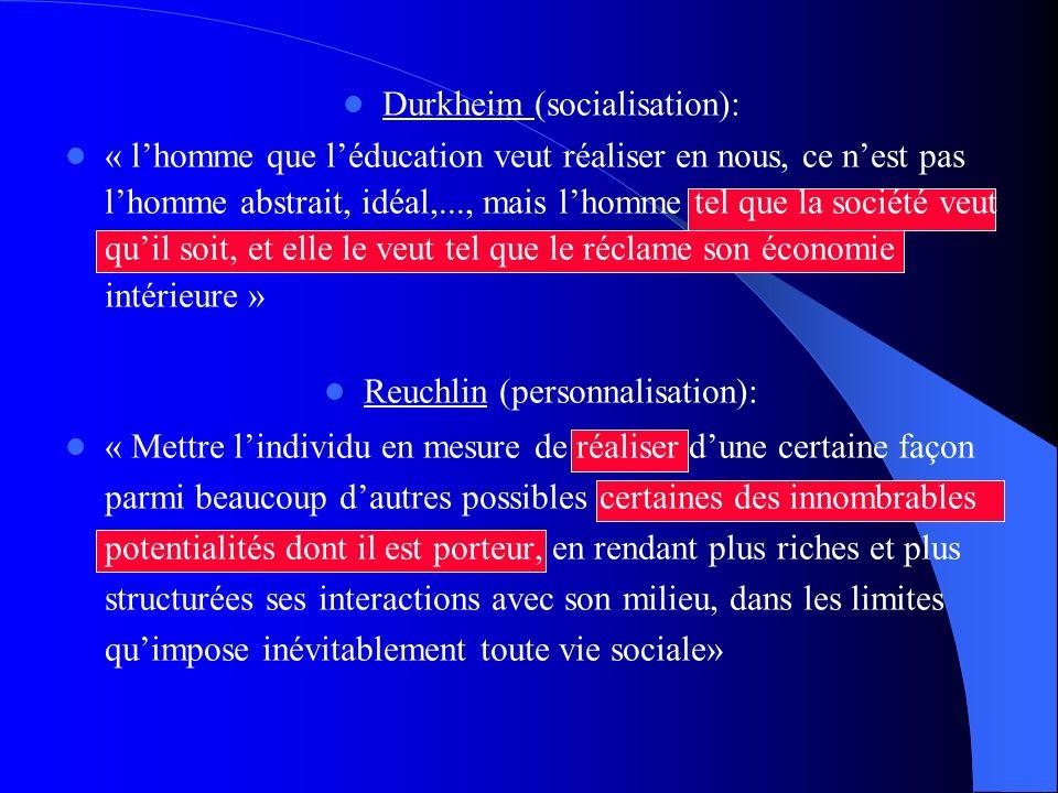 Durkheim (socialisation):