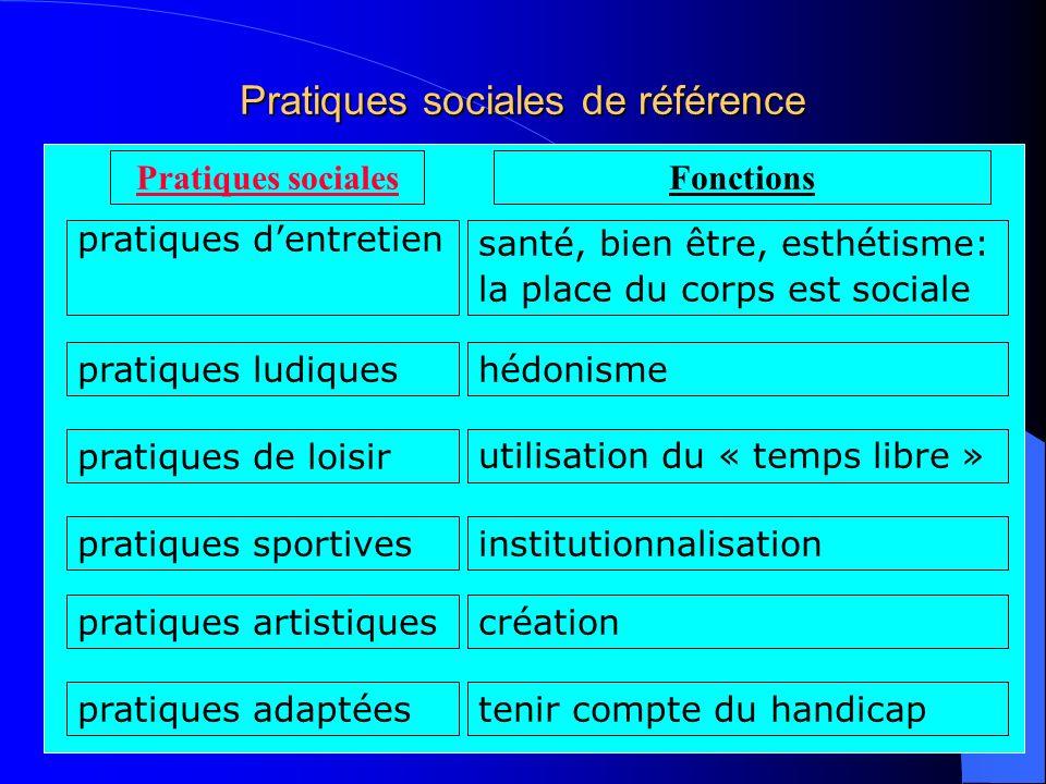 Pratiques sociales de référence