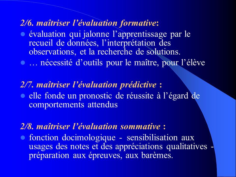 2/6. maîtriser l'évaluation formative: