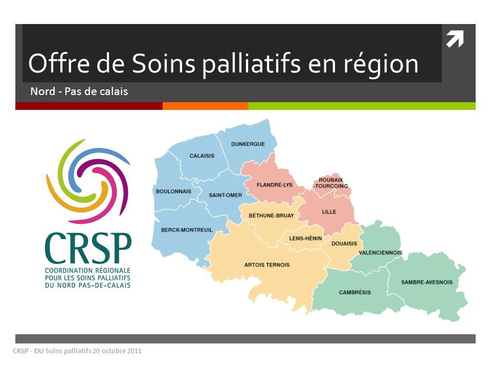 Offre de Soins palliatifs en région
