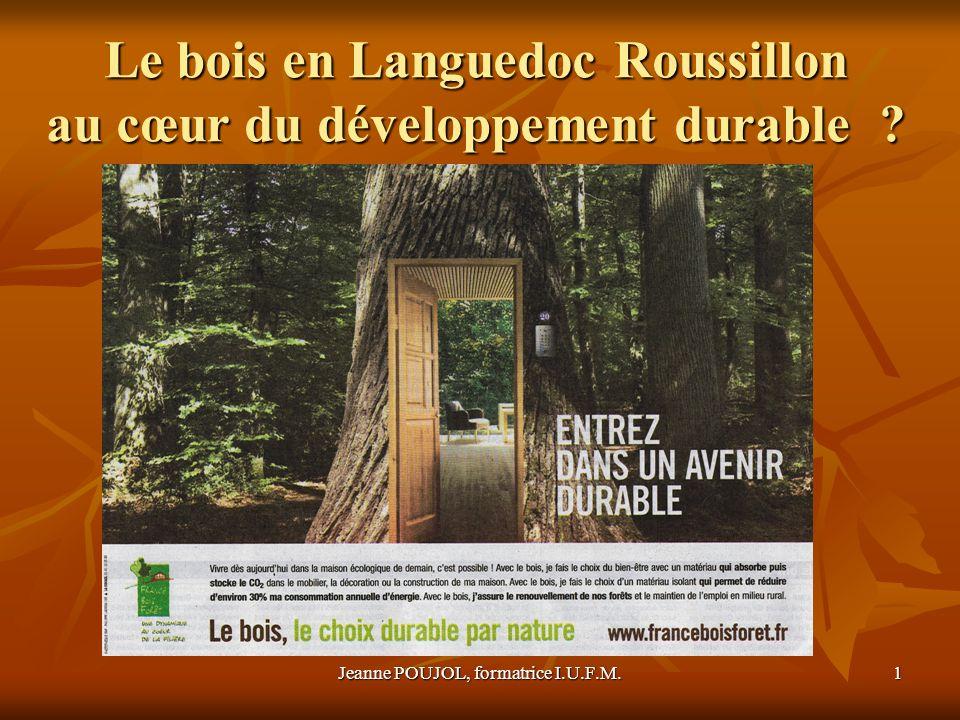 Le bois en Languedoc Roussillon au cœur du développement durable