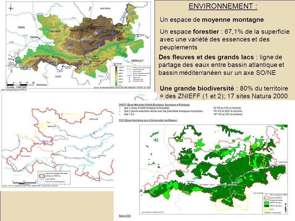 Le PNR du haut Languedoc : un territoire rural en mutation