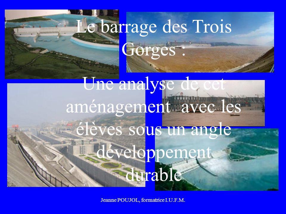 Le barrage des Trois Gorges :