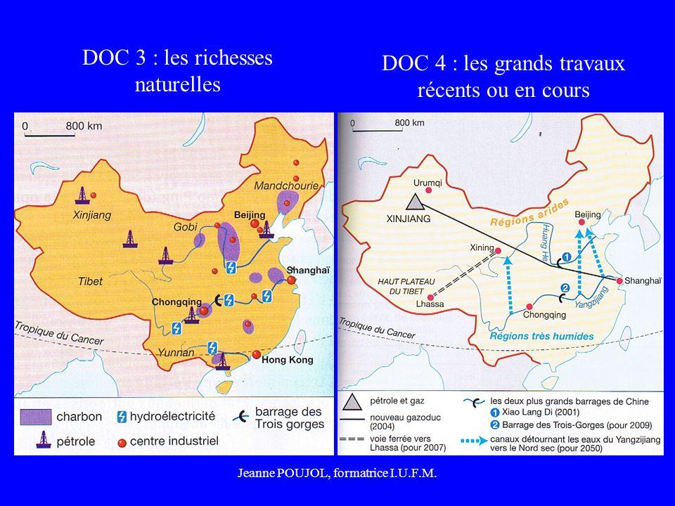 DOC 3 : les richesses naturelles