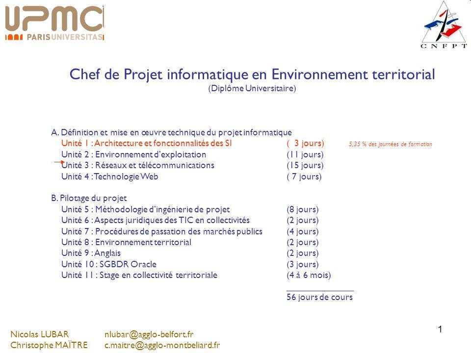 Chef de Projet informatique en Environnement territorial