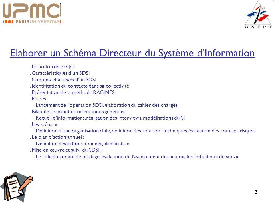 Elaborer un Schéma Directeur du Système d'Information