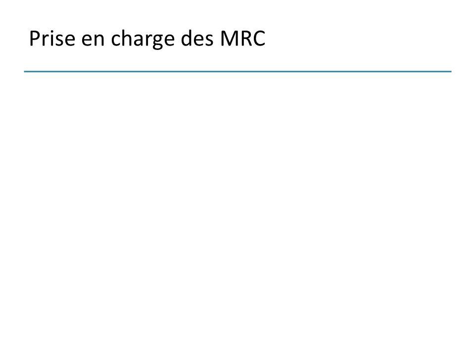 Prise en charge des MRC