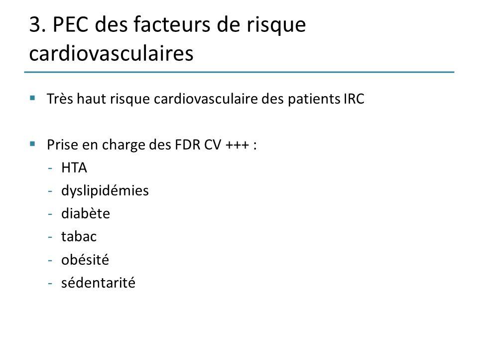 3. PEC des facteurs de risque cardiovasculaires