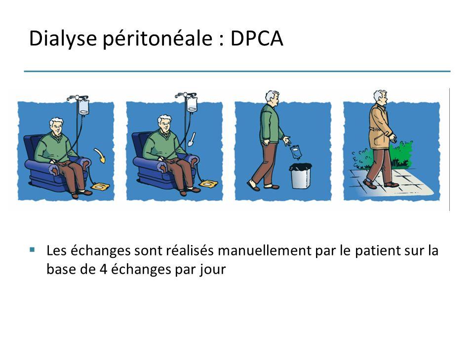 Dialyse péritonéale : DPCA