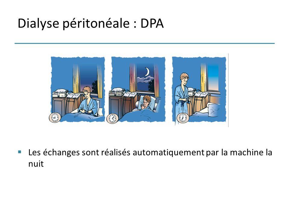 Dialyse péritonéale : DPA