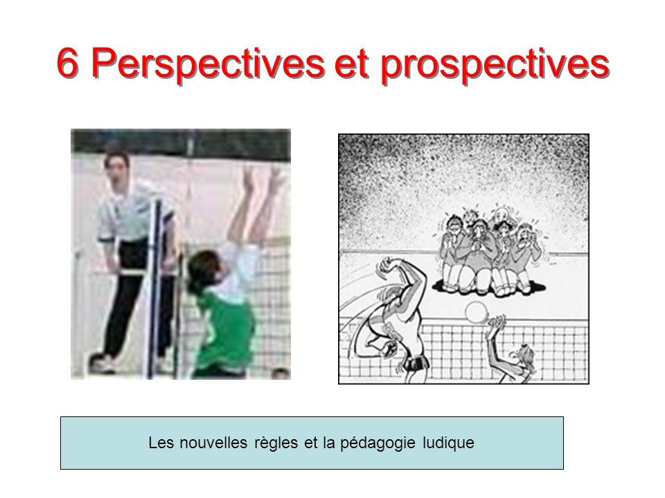6 Perspectives et prospectives