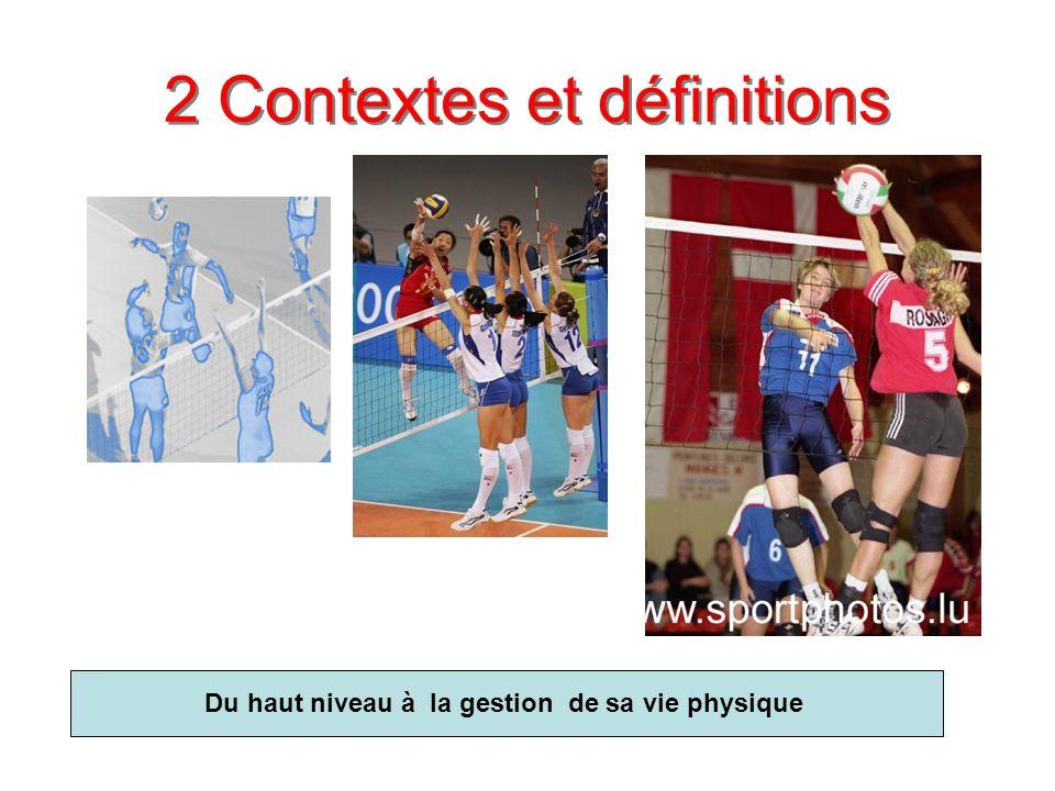 2 Contextes et définitions