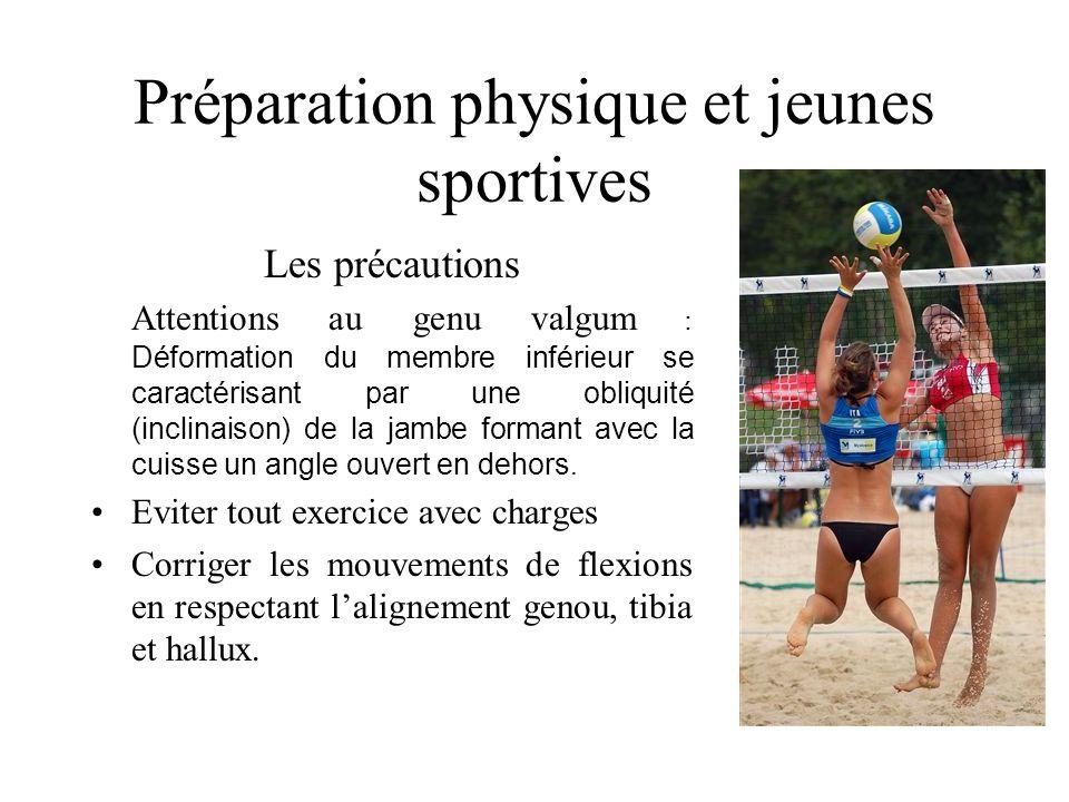 Préparation physique et jeunes sportives