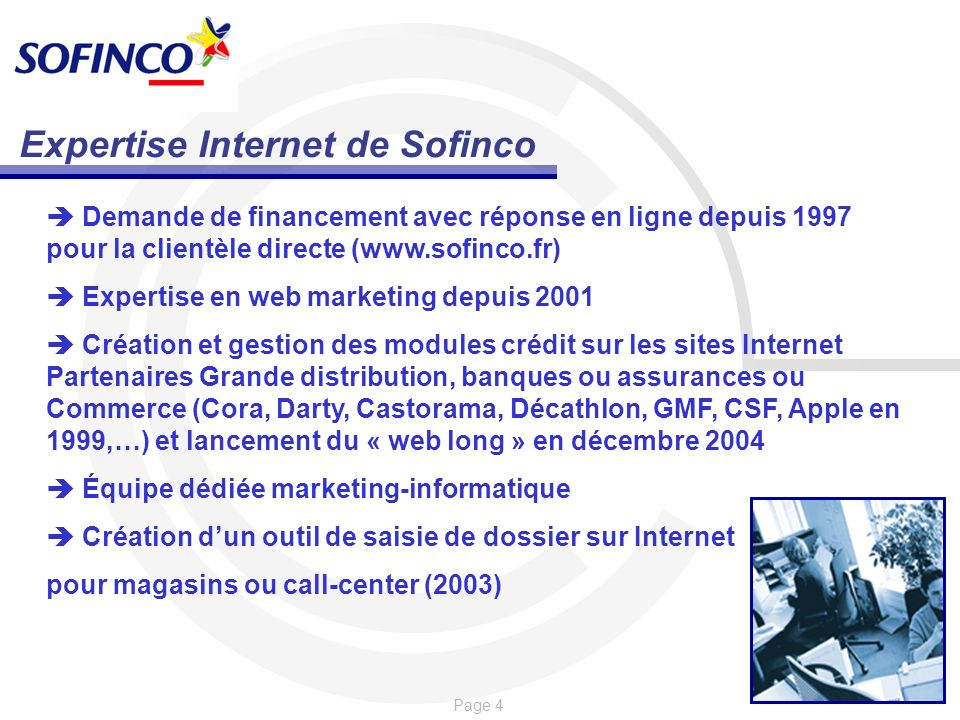 Expertise Internet de Sofinco
