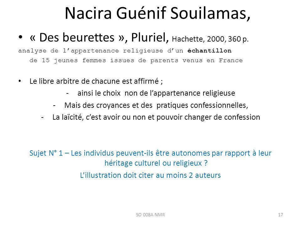 Nacira Guénif Souilamas,