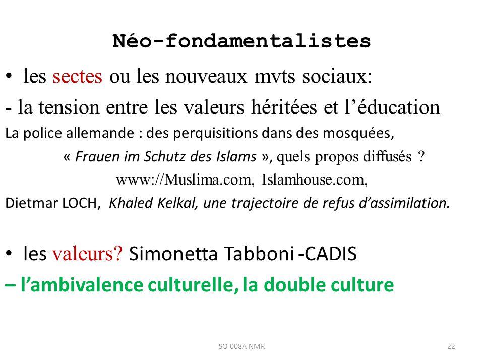 Néo-fondamentalistes