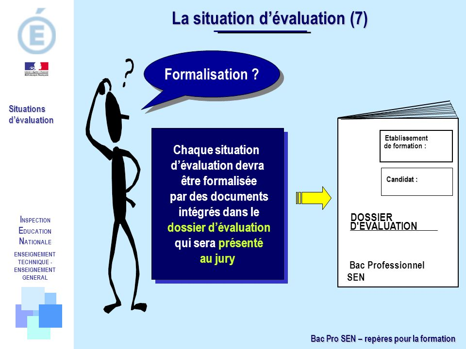 La situation d'évaluation (7)