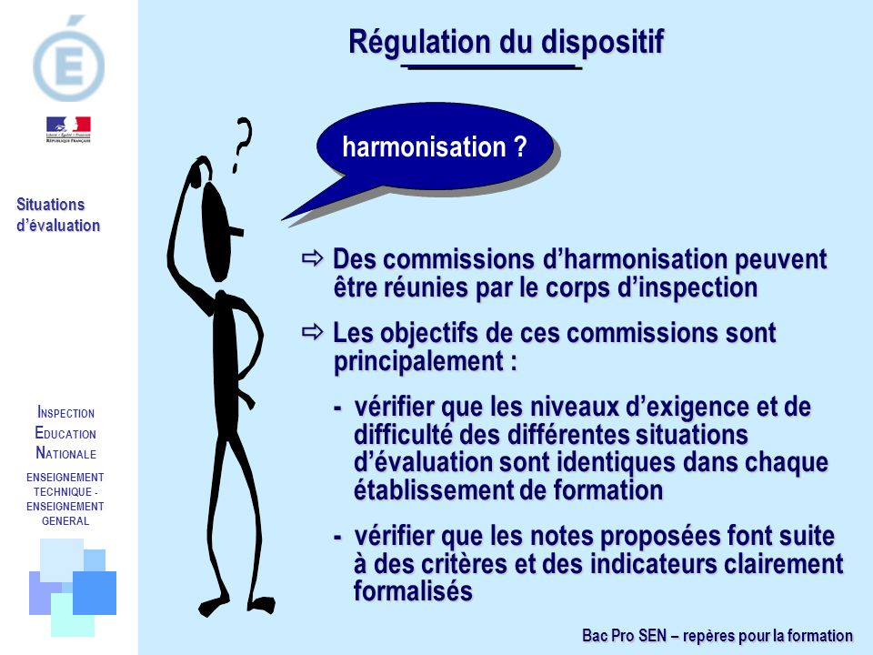 Régulation du dispositif ENSEIGNEMENT TECHNIQUE -ENSEIGNEMENT GENERAL