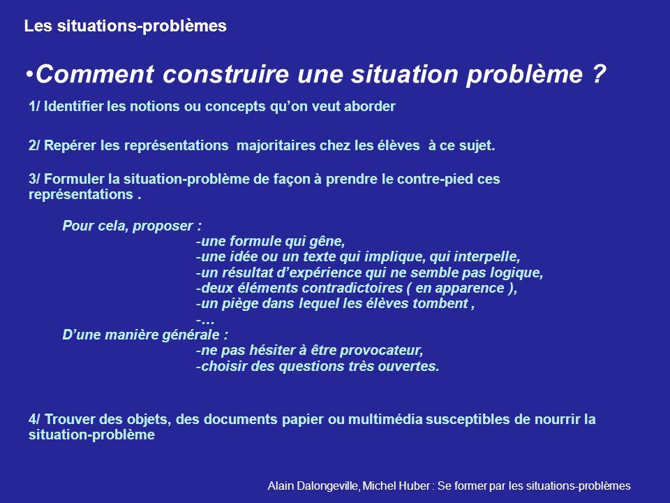 Comment construire une situation problème