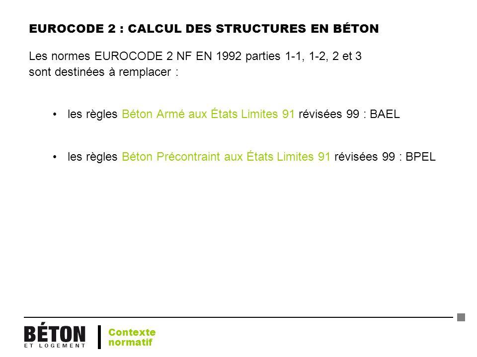 EUROCODE 2 : CALCUL DES STRUCTURES EN BÉTON