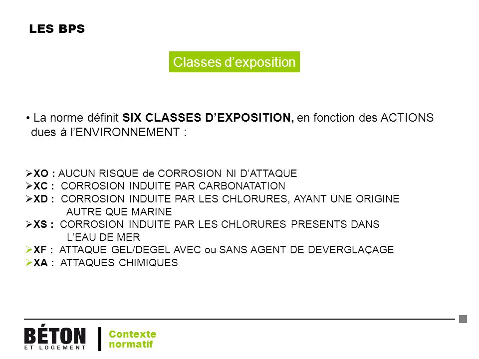 Classes d'exposition LES BPS