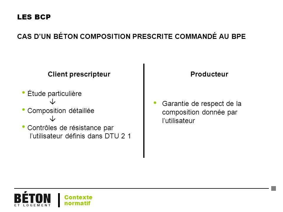 Client prescripteur Producteur