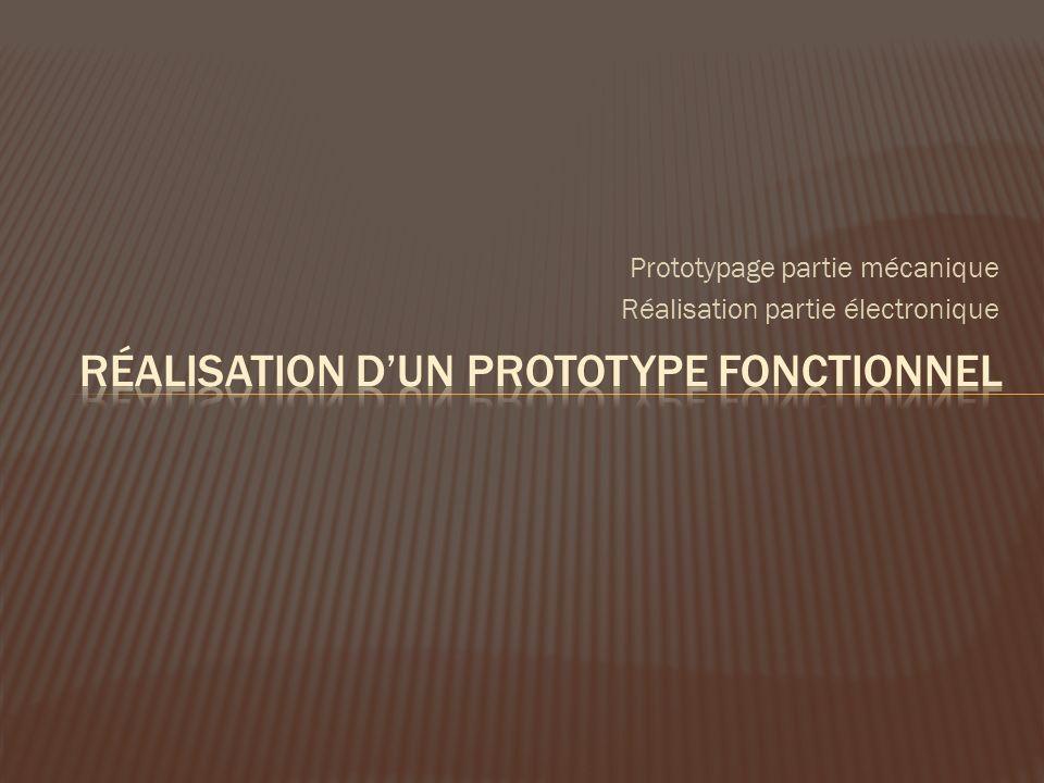 Réalisation d'un prototype fonctionnel