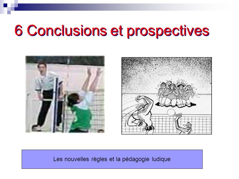 6 Conclusions et prospectives