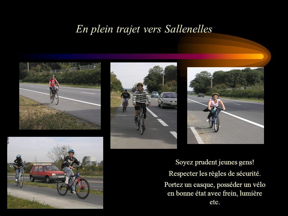 En plein trajet vers Sallenelles