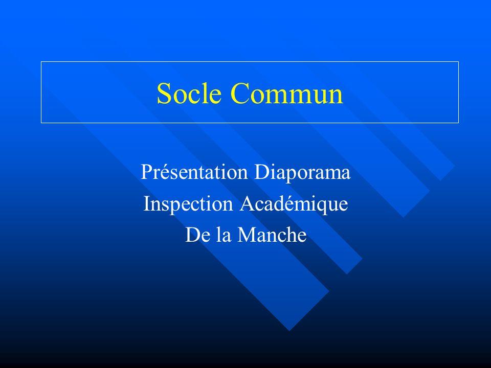 Présentation Diaporama Inspection Académique De la Manche