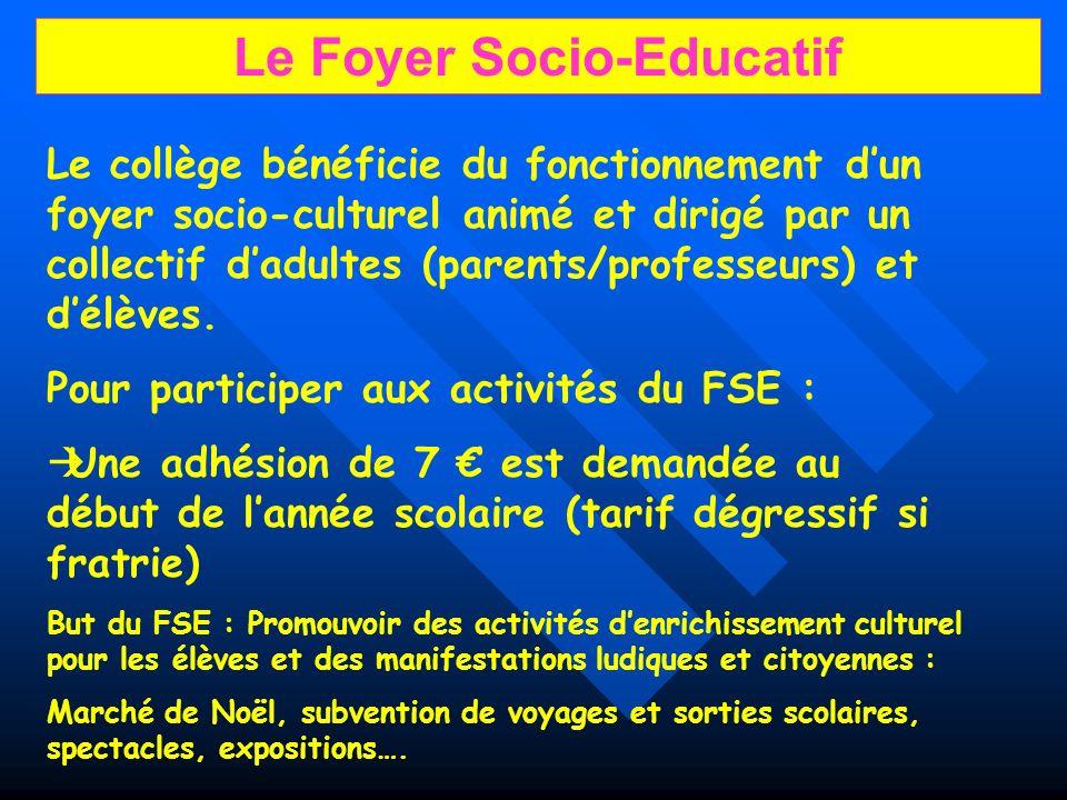 Le Foyer Socio-Educatif
