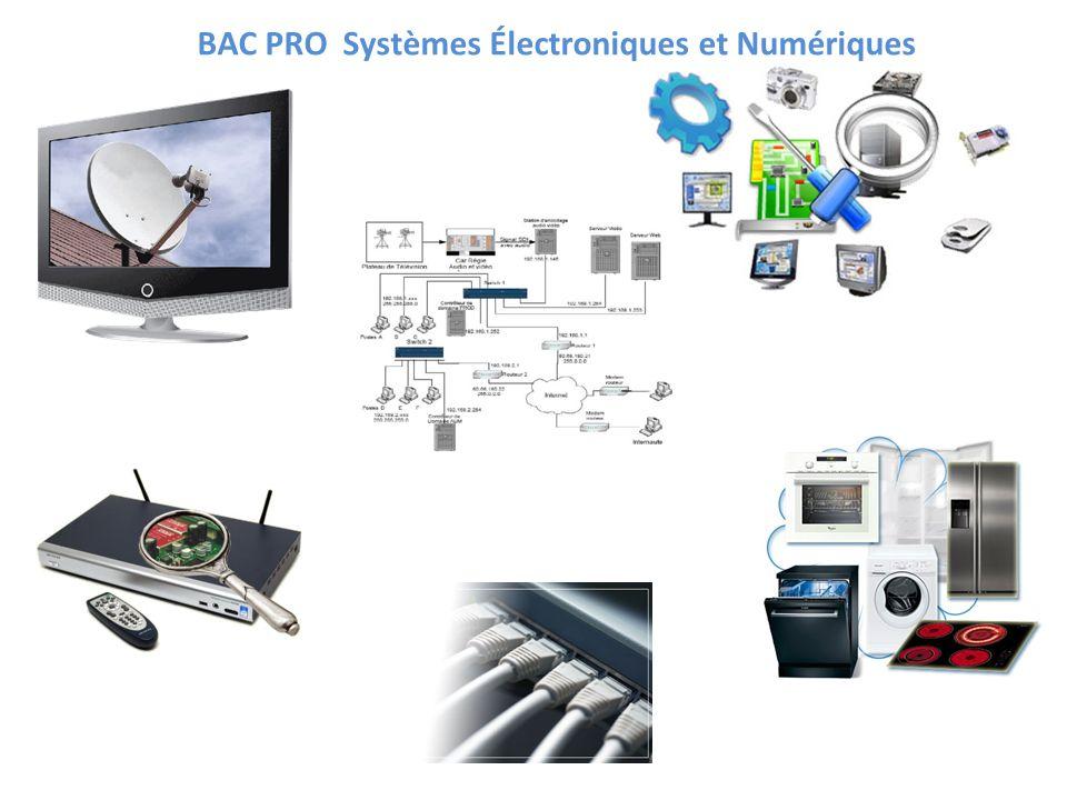 BAC PRO Systèmes Électroniques et Numériques