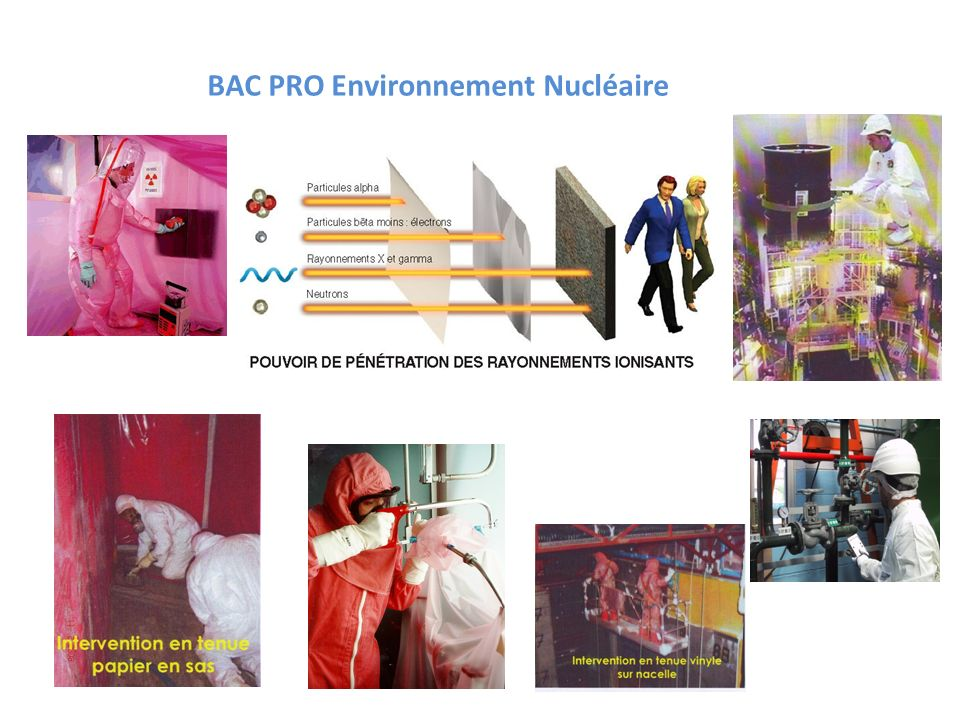 BAC PRO Environnement Nucléaire