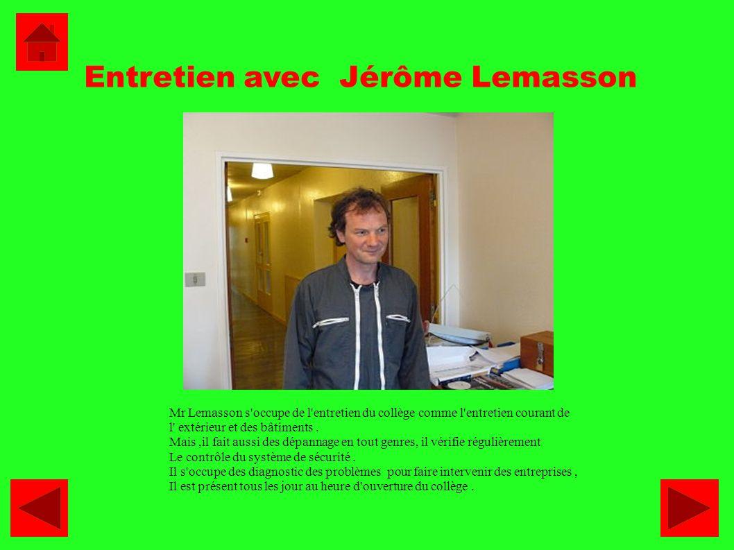 Entretien avec Jérôme Lemasson