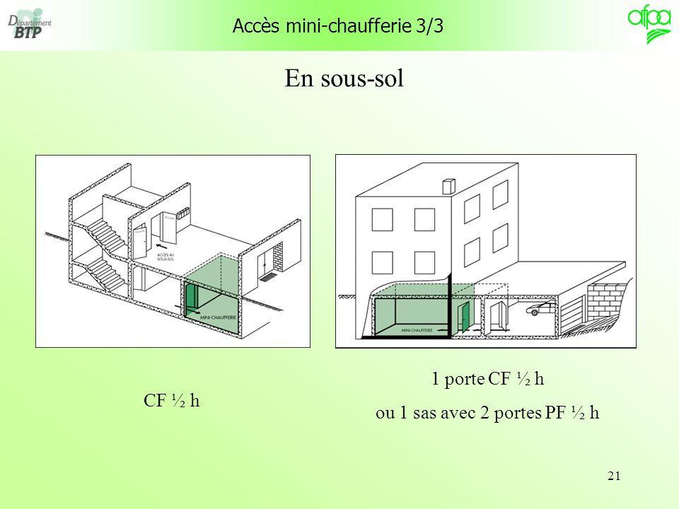 Accès mini-chaufferie 3/3