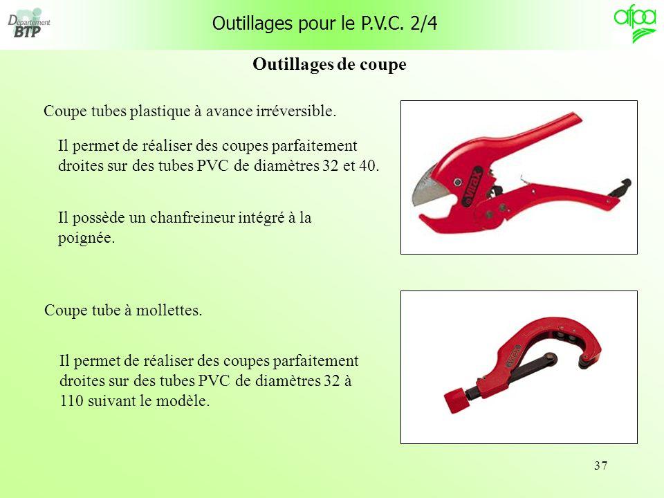 Outillages pour le P.V.C. 2/4