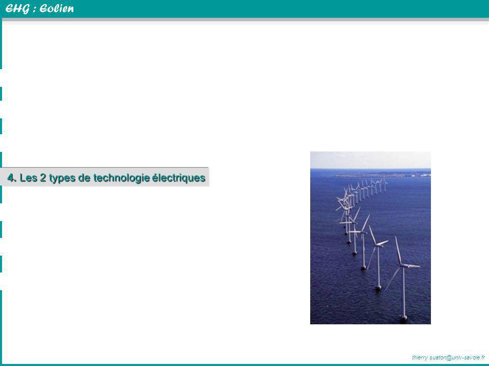 4. Les 2 types de technologie électriques