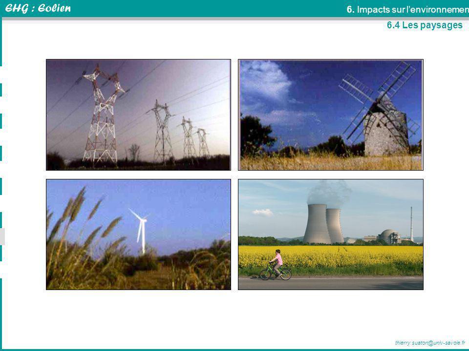 6. Impacts sur l'environnement