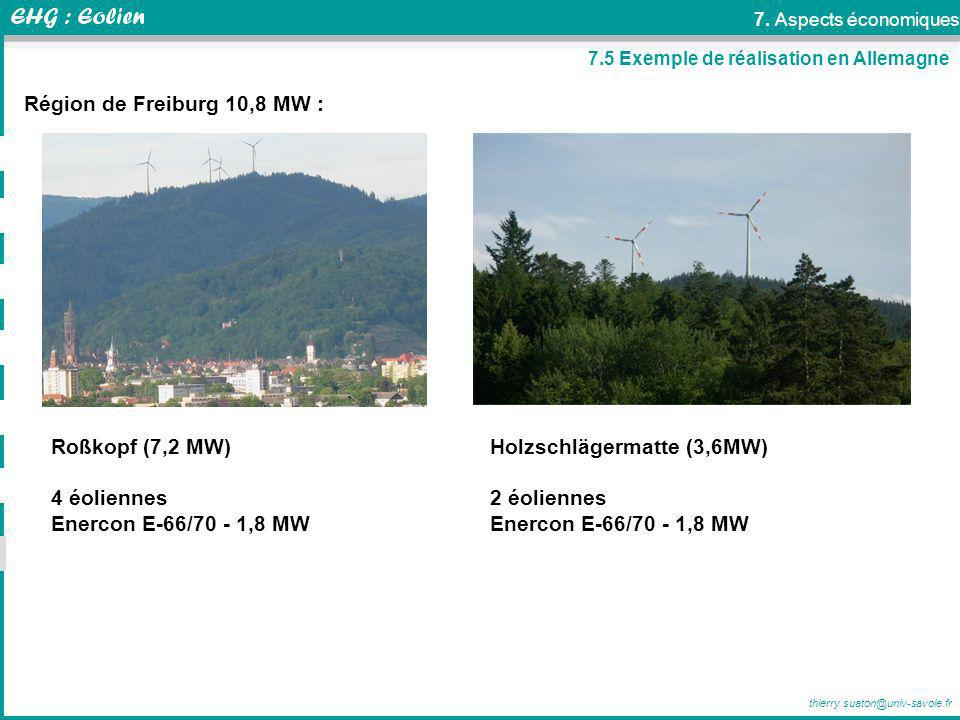 Holzschlägermatte (3,6MW) 2 éoliennes Enercon E-66/70 - 1,8 MW