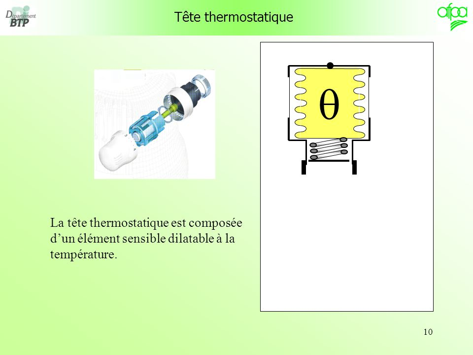 Tête thermostatique q.