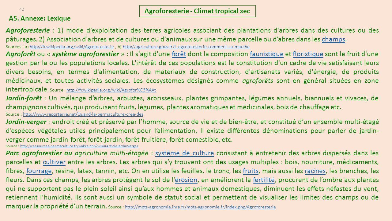 Agroforesterie climat tropical sec ppt t l charger - Association plantes aromatiques entre elles ...