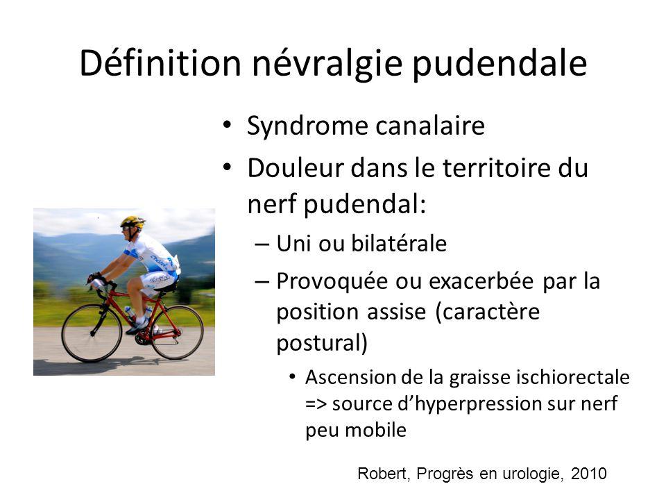Définition névralgie pudendale