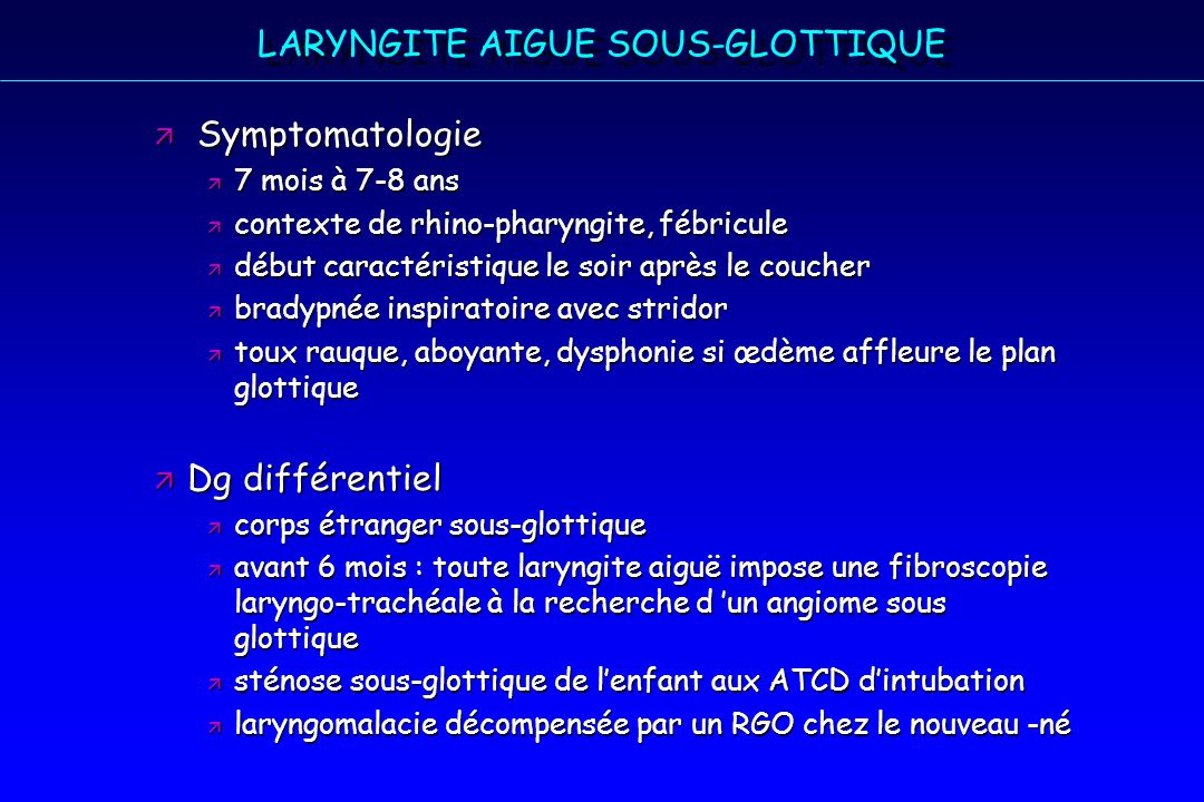 les infections respiratoires hautes de l enfant aux urgences ppt video online t l charger. Black Bedroom Furniture Sets. Home Design Ideas