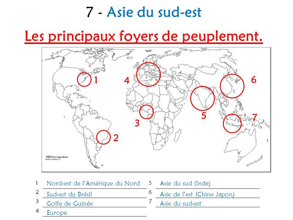 Grand Foyer De Peuplement En Europe : La répartition mondiale de population ppt video