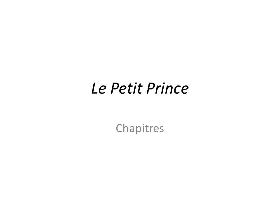 Le Petit Prince Chapitres
